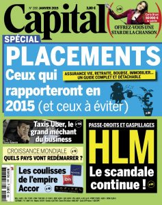Capital N°280 - Janvier 2015