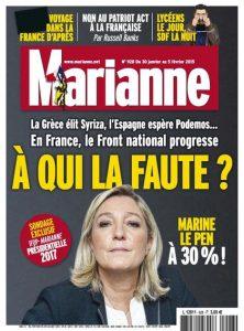 Marianne N°928 Du 30 Janvier au 5 Février 2015