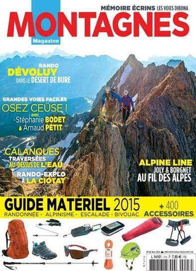 Montagnes Magazine N°416 – Mai 2015