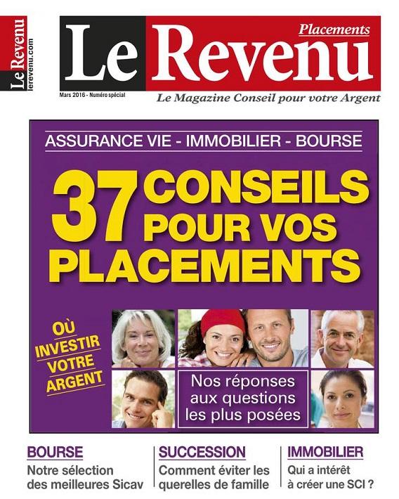 Le Revenu Placements N°159 – Mars 2016
