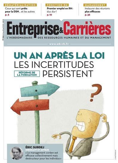 Entreprise et Carrières N°1236 Du 14 au 20 Avril 2015