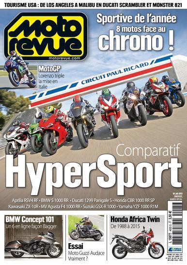 Moto Revue N°4005 Du 4 au 17 Juin 2015