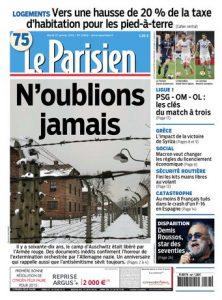 Le Parisien Du Mardi 27 Janvier 2015