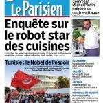 Le Parisien + Journal De Paris Du Samedi 10 Octobre 2015
