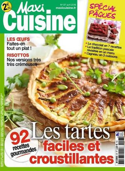 Maxi Cuisine N°97 – Avril 2015