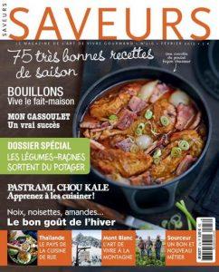 Saveurs N°216 - Février 2015