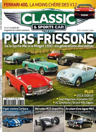 Classic et Sports Car N°31 – Avril 2015