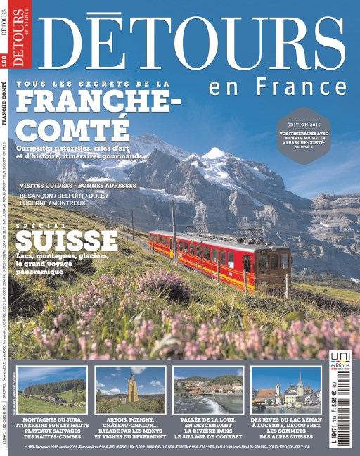 Détours En France N°188 – Décembre 2015-Janvier 2016