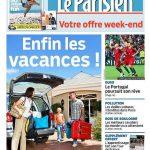 Le Parisien + Journal De Paris + Magazine Du Vendredi 1er Juillet 2016