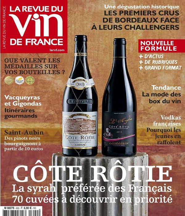 La Revue Du Vin De France N°600 - Avril 2016