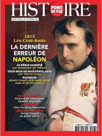 Point De Vue Histoire N°23 – Mars 2015