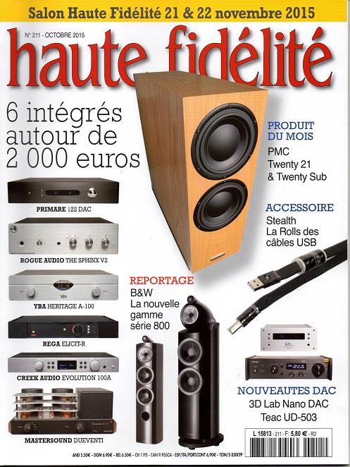 Haute Fidélité N°211 – Octobre 2015