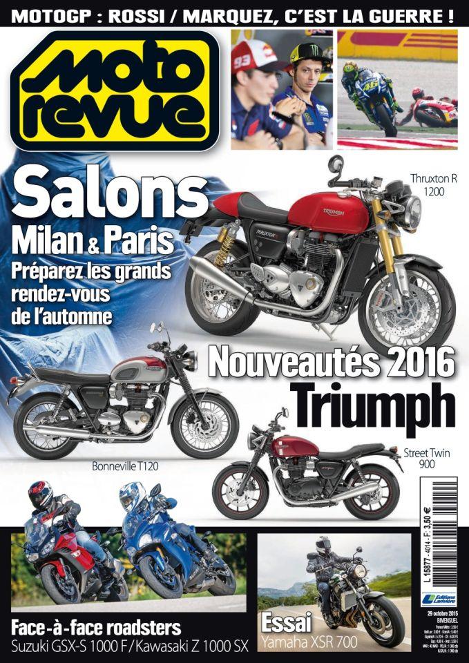 Moto Revue N°4014 Du 29 Octobre au 11 Novembre 2015