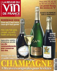 La Revue Du Vin De France N°617 - Décembre 2017