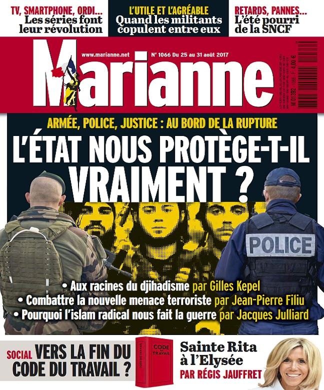 Marianne N°1066 Du 25 au 31 Août 2017