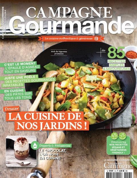 Campagne Gourmande N°13 – Mars-Mai 2018