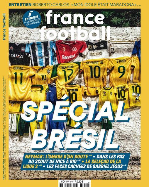 France Football N°3750 Du 27 Mars 2018