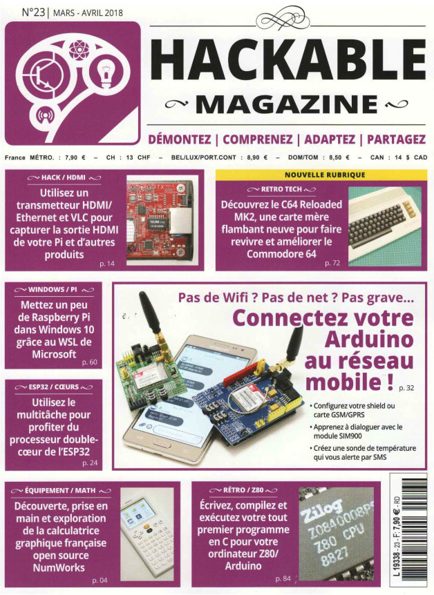Hackable Magazine N°23 – Mars-Avril 2018