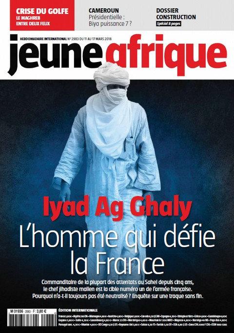 Jeune Afrique N°2983 Du 11 au 17 Mars 2018