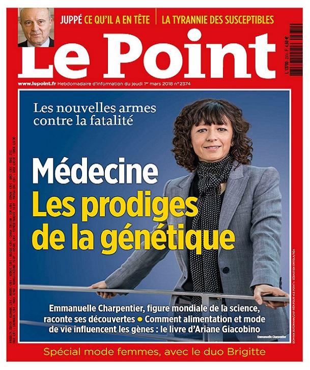 Le Point N°2374 Du 1er Mars 2018