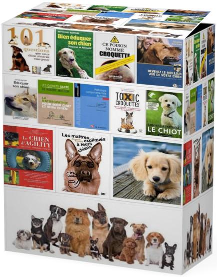 Pack 35 Livres Spécial Chiens
