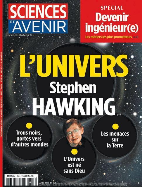 Sciences et Avenir N°854 – Avril 2018