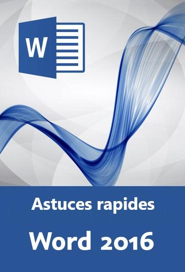 Word Astuces rapides