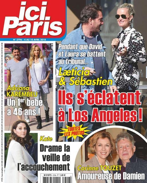 Ici Paris N°3796 Du 4 Avril 2018