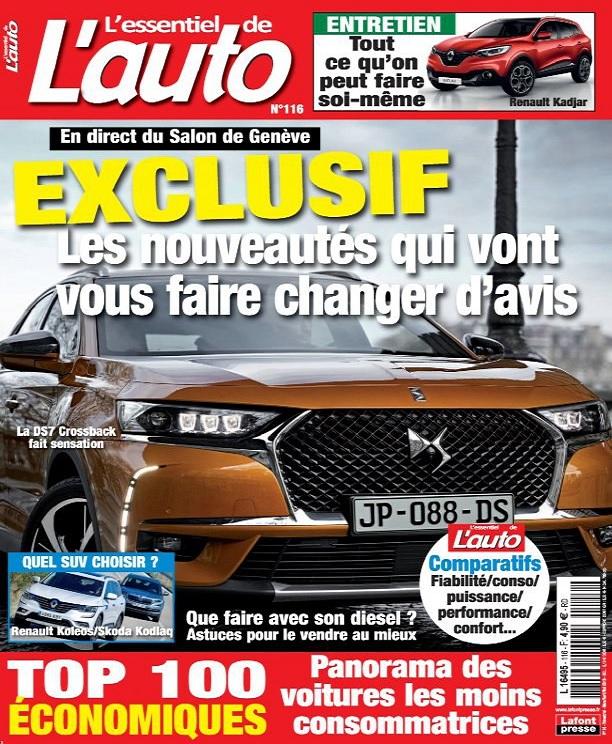L'Essentiel De L'Auto N°116 – Mars-Mai 2018