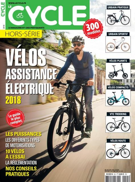 Le Cycle Hors Série N°5 – Les Vélos électriques 2018
