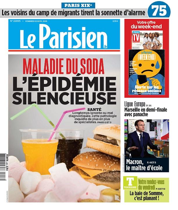 Le Parisien Du Vendredi 13 Avril 2018