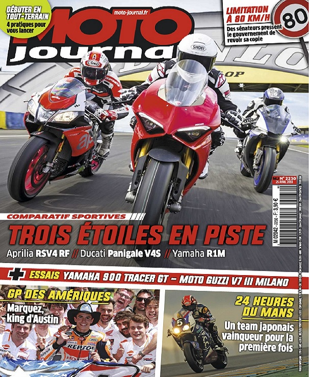 Moto Journal N°2230 Du 25 Avril 2018
