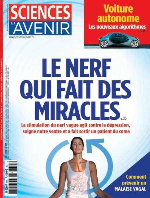 Sciences et Avenir N°855 – Mai 2018