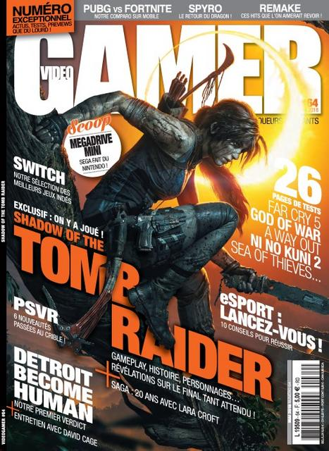 Video Gamer N°64 – Mai 2018