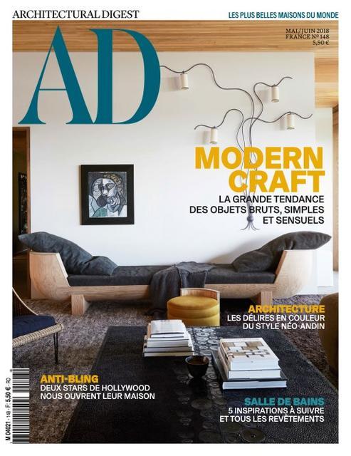 AD Architectural Digest N°148 – Mai-Juin 2018