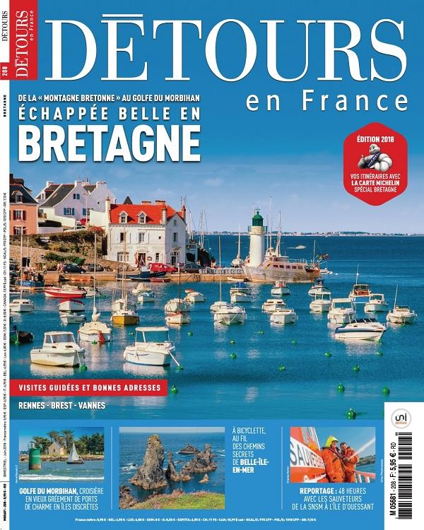 Détours En France N°208 – Juin 2018