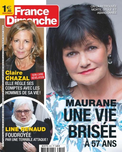 France Dimanche N°3741 Du 11 Mai 2018