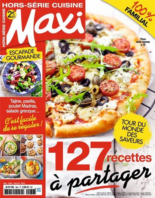 Maxi Hors Série Cuisine N°36 – Mai-Juillet 2018