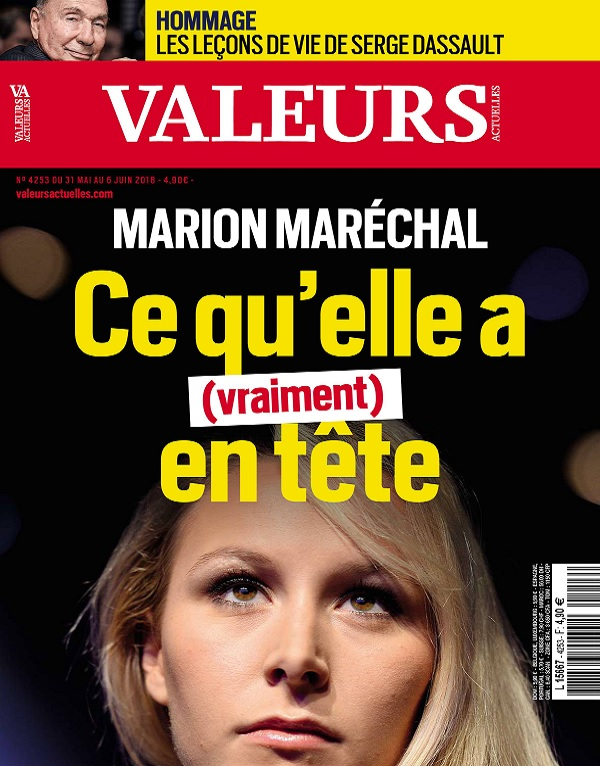 Valeurs Actuelles N°4253 Du 31 Mai 2018