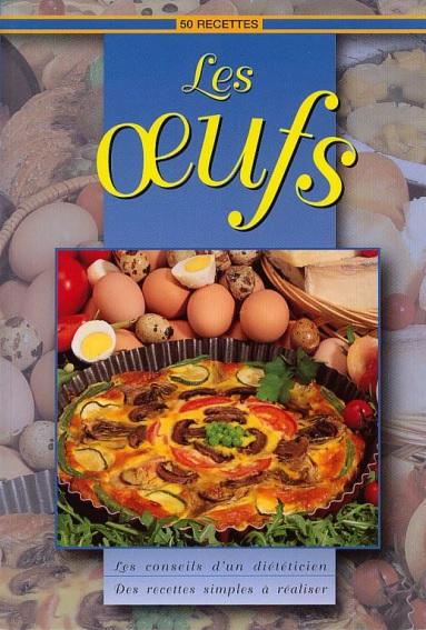 50 recettes à bases d'oeufs