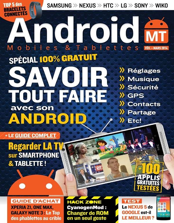 Android Mobiles et Tablettes N°23 – Savoir Tout Faire Avec Son Android