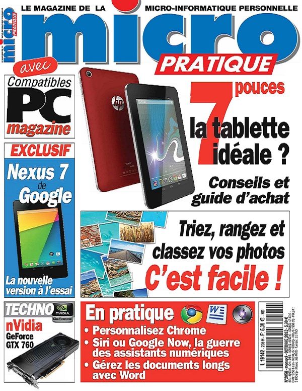 Micro Pratique N°205 – La Tablette idéale ?