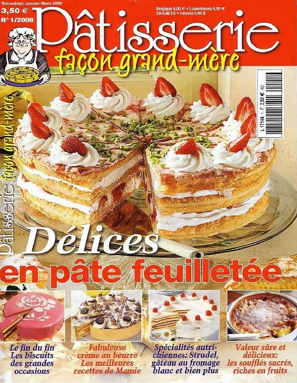 Pâtisserie Façon grand-mère N°1 – Délices en pâte feuilletée