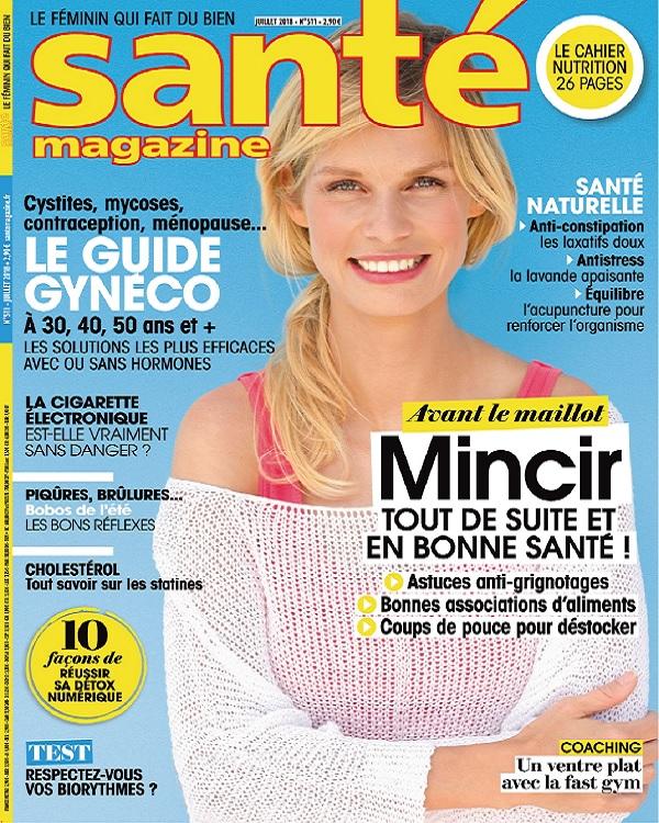 Santé Magazine N°511 – Juillet 2018