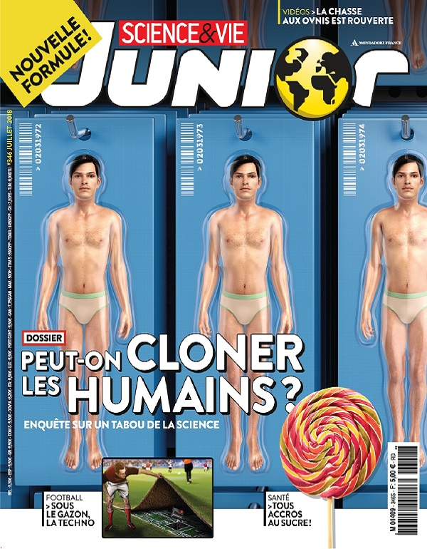 Science et Vie Junior N°346 – Juillet 2018