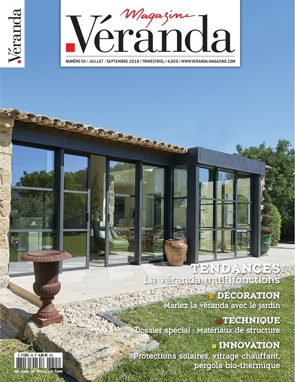 Véranda Magazine N°55 – Juillet-Septembre 2018