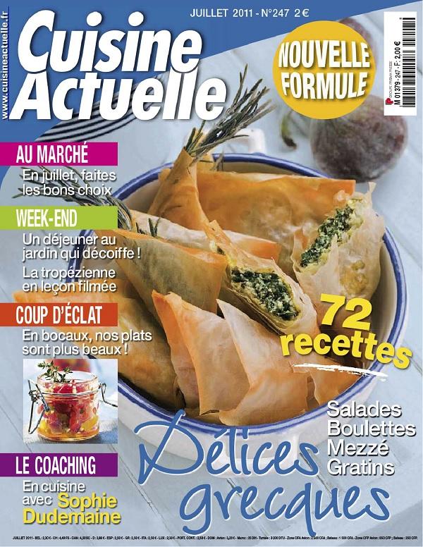 Cuisine Actuelle N°247 – Délices Grecques