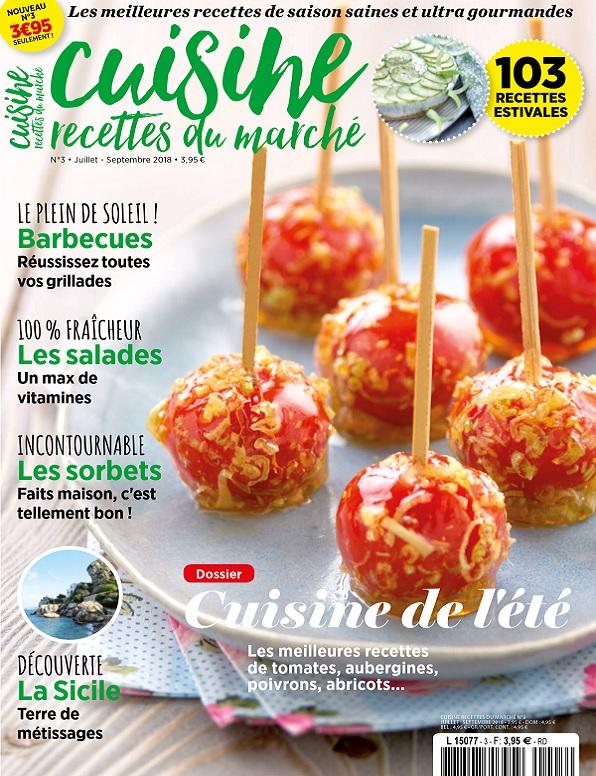Cuisine, Recettes Du Marché N°3 – Juillet-Septembre 2018