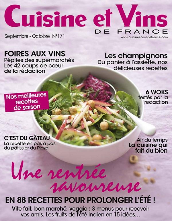 Cuisine et Vins De France N°171 – Une Rentrée Savoureuse