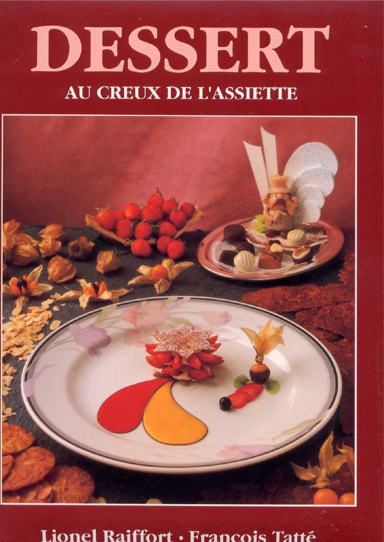 Dessert au creux de l'assiette